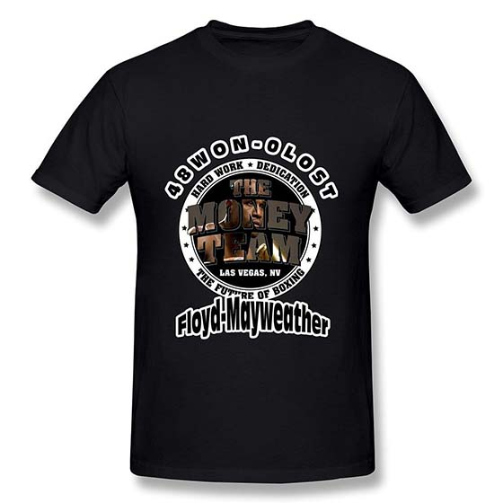 3. YIRONG Men's Pretty Boy Floyd Mayweather The Best Ever T-shirt