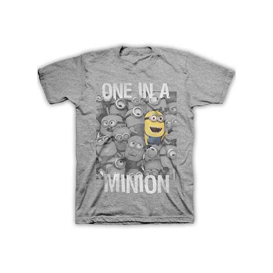 5. Hybrid Men's Despicable Me – One is a Minion T-shirt