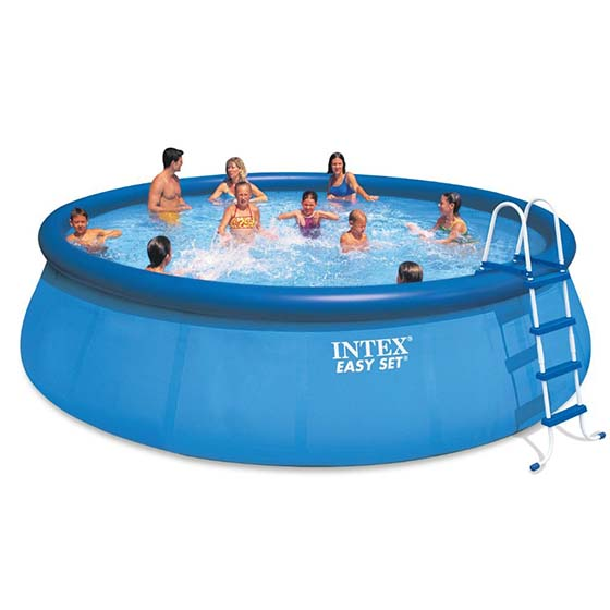 9. Intex 18ft X 48in Easy Set Pool Set