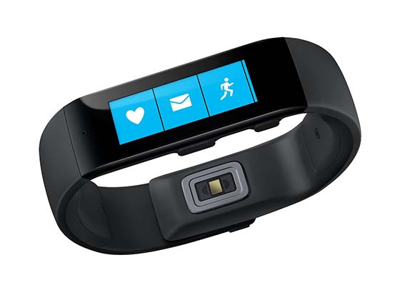 1. Microsoft Band – Large (4M5-00003)