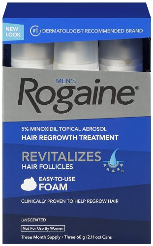 4. Rogaine for Men Hair Regrowth Treatment