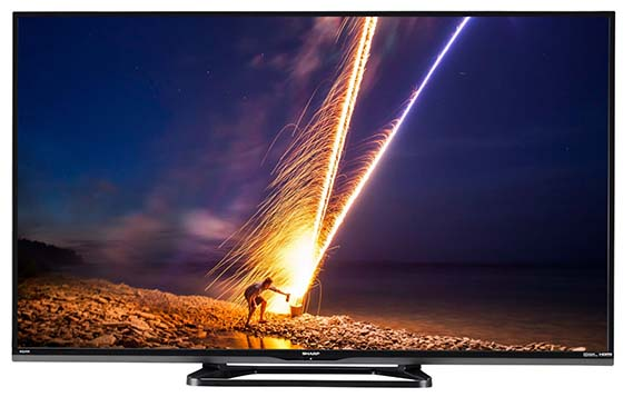 7. Sharp LC-40LE653U 40-Inch 1080p 60Hz Smart LED TV