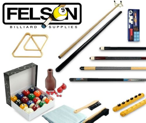 6. Billiards Accessories Kit - 32 Piece by Felson Billiard Supply