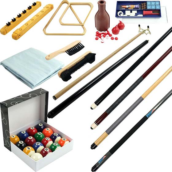 5. Trademark Gameroom 32 Piece Billiard Accessory Kit