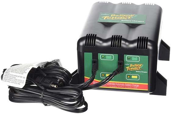 3. Battery Tender 022-0165-DL-WH 12-Volt 2-Bank Battery Management System