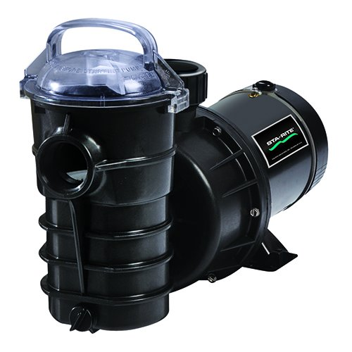 4. Pentair DYNII-NI-1-1/2 HP Dynamo Single Speed Aboveground Pool Pump with Cord, 1-1/2 HP