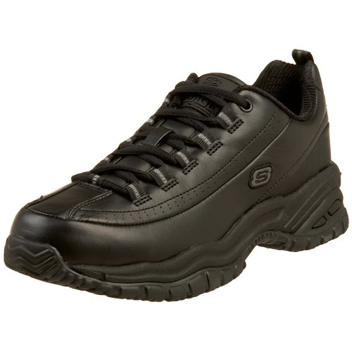 2. Skechers for Work Women's Soft Stride-Softie Lace-Up