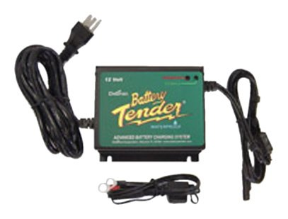 8. Battery Tender 022-0157-1 Waterproof 12 Volt Power Tender Plus Battery Charger