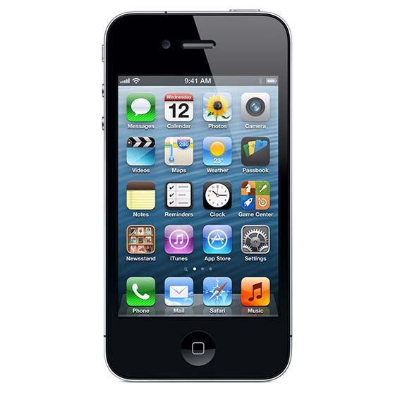 8. Apple iPhone 4 Black Smartphone 16GB