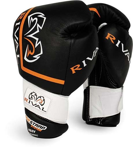 4. Rival High Performance Hook-and-Loop Sparring Gloves