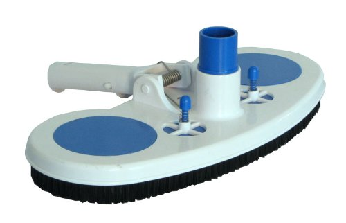 10. Swimming Pool Vacuum Head with Air Relief Valves and Spring Handle