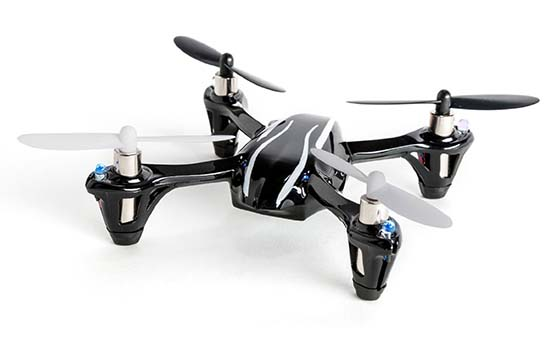 6. Hubsan X4 (H107L) 4 Channel 2.4GHz RC Quadcopter