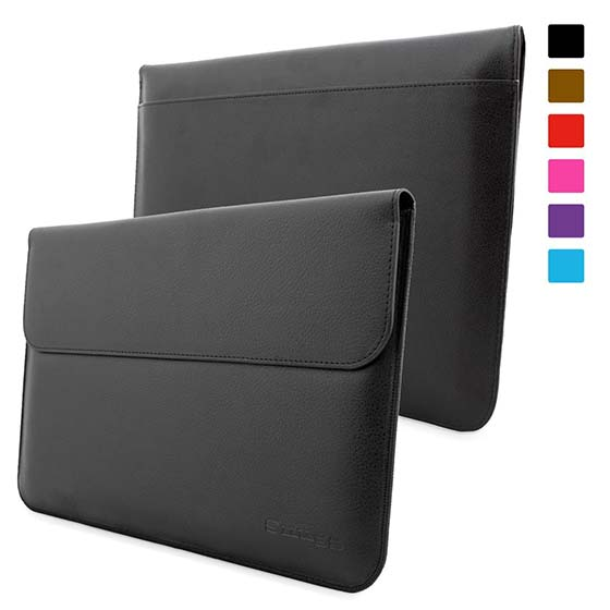 3. Snugg Surface Pro 3 Case - Leather Sleeve