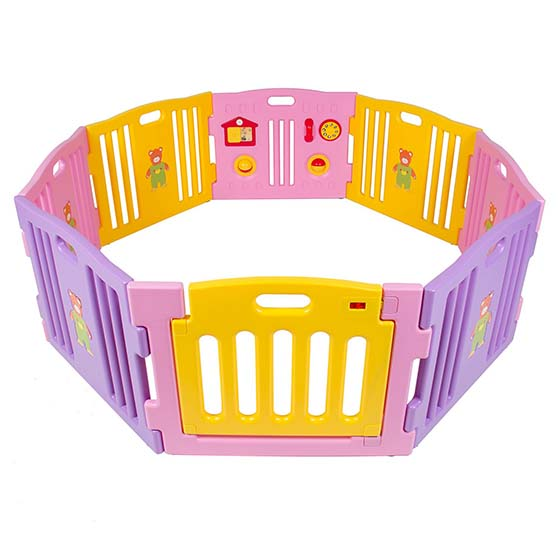 7. Best Choice Products Baby Playpen Kids 8 Panel Safety Play Center Yard Home Indoor Outdoor New Pen