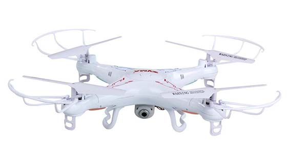 1. SYMA X5C-W 4CH 2.4G Quadcopter with Camera