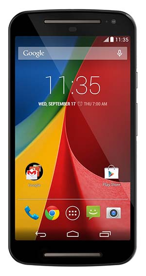 10. Motorola Moto G (2nd generation) - Global GSM - Unlocked