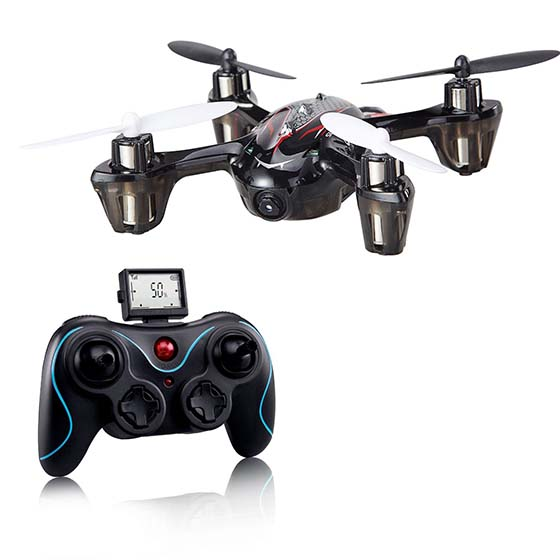 3. Holy Stone mini RC Quadcopter with 2MP Camera,6-Axis Gyro 2.4 GHz,come with 2 Batteries & 12 Blades