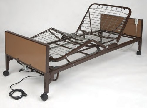 2. Medline Simplicity Semi-Electric Economy Bed