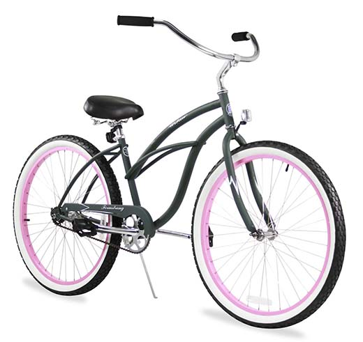 1. Firmstrong Urban Lady Beach Cruiser Bicycle