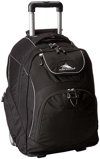 5. High Sierra Powerglide Wheeled Book Bag