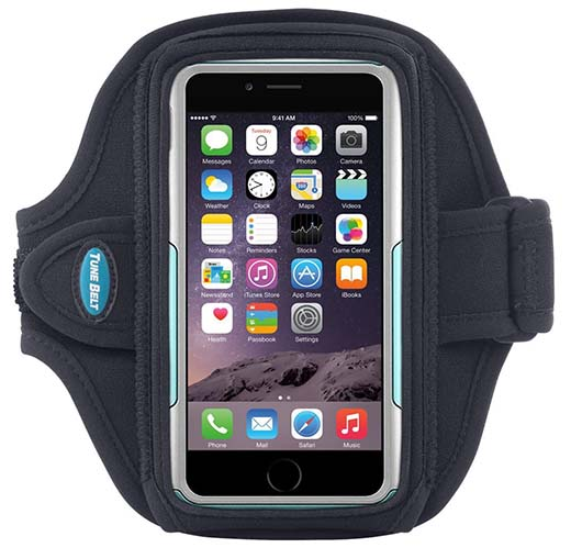 7. Armband for iPhone 6 with OtterBox Commuter or LifeProof free case