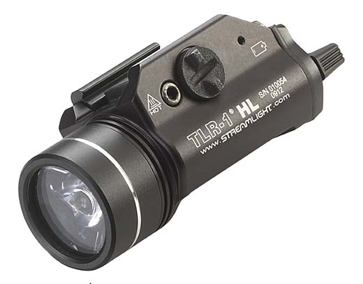 1. Streamlight 69260 TLR-1 HL High Lumen Rail-Mounted Tactical Light
