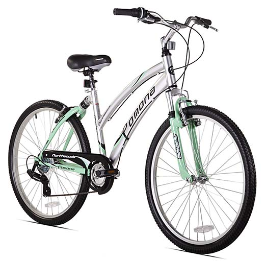 10. Northwoods Pomona Women's Cruiser Bike (26-Inch Wheels)
