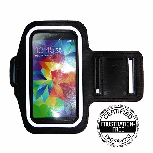 6. Best Running Armband for Samsung Galaxy S5 , S4, S3, iPhone 6 (4.7), HTC One & More