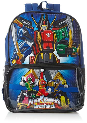 4. Power Rangers Big Boys' Character Backpack