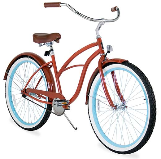 2. sixthreezero Women's 26-Inch Beach Cruiser Bicycle