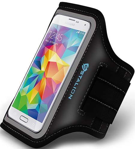 4. Galaxy S6 / S6 Edge Armband : Stalion Sports Running & Exercise Gym Sportband