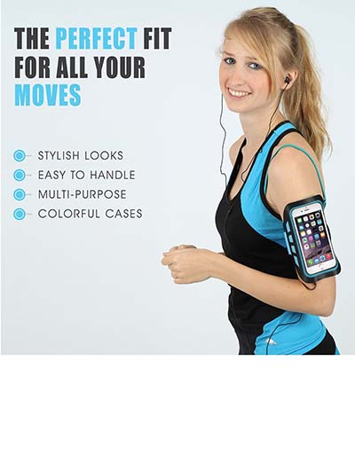 8. New* Danforce Armband - #1 Rated Lycra Sports Armband