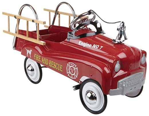 2. InStep Fire Truck Pedal Car