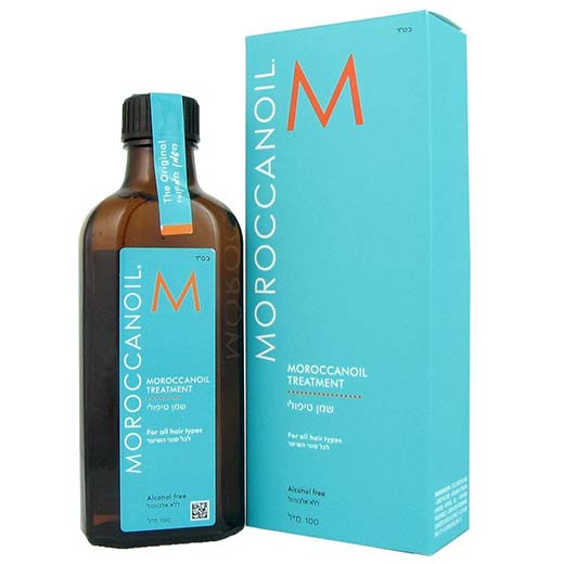 4. Moroccan Oil Hair Treatment 3.4 Oz Bottle with Blue Box