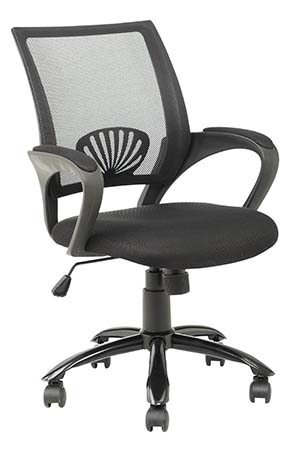 6. Mid Back Mesh Ergonomic Computer Desk Office Chair
