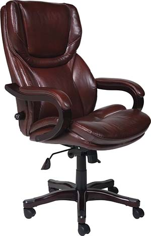 9. Serta 43506 Bonded Leather Big & Tall Executive Chair