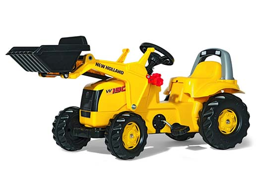6. Rolly New Holland Kid Tractor with Front Loader