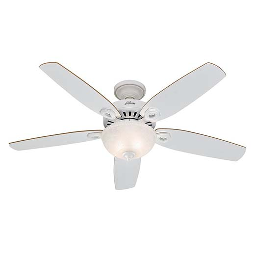 4. Hunter 53089 Builder Deluxe 52-Inch Ceiling Fan