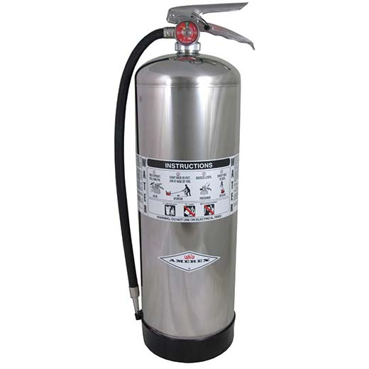 8. Amerex 240 Water Fire Extinguisher, 2.5 gal