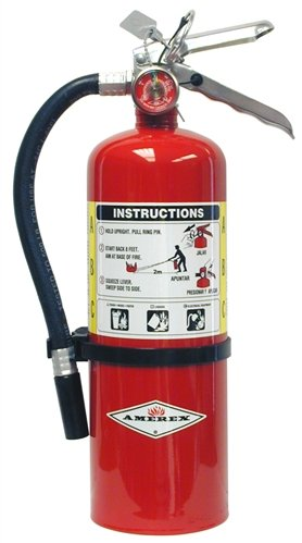 7. Amerex B402 ABC Multi-Purpose Fire Extinguisher, 5 lb.