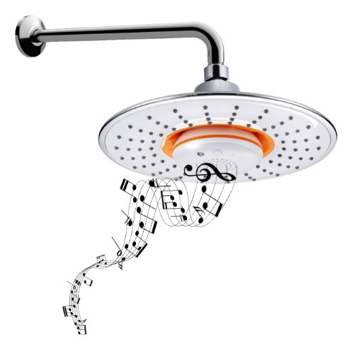 9. Bidet4me Msh-10 Musical Showerhead Waterproof Speaker Bluetooth Shower Arm