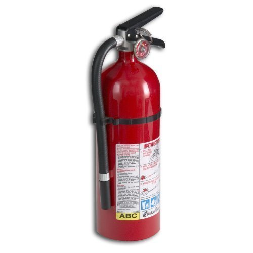 9. 2 Pack Of Kidde 21005779 Pro 210 Fire Extinguisher, ABC, 160CI (Package Include Trademark Supplies Assemble Kit)