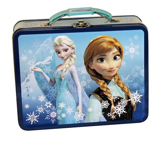 3. Disney Frozen Metal Tin Lunchbox