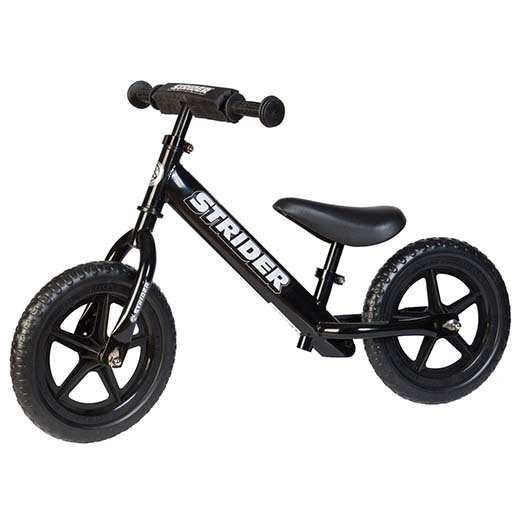 1.Strider 12 Sport No-Pedal Balance Bike
