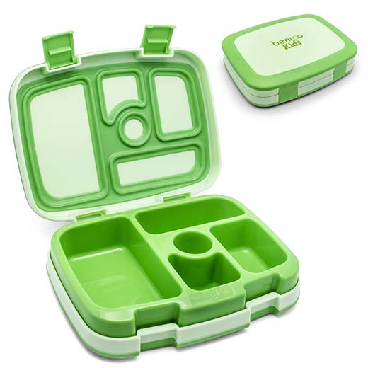 6. Bentgo Kids - Leakproof Children's Lunch Box (Green)