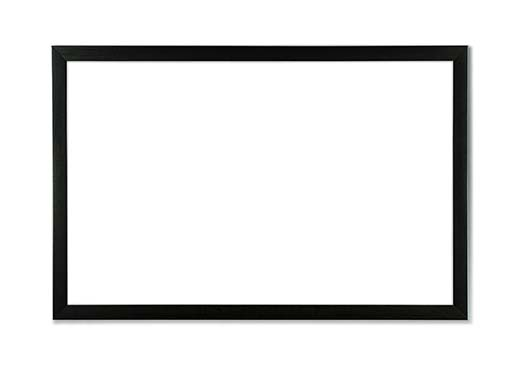 2. U Brands Magnetic Dry Erase Board, 35 x 23 Inches, Black Wood Frame