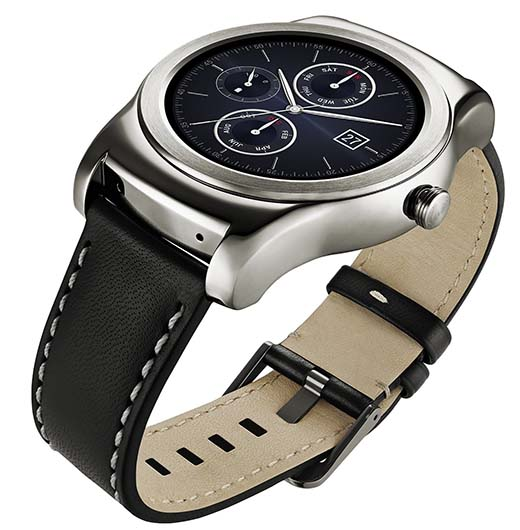1. LG Watch Urbane Wearable Smart Watch - Silver