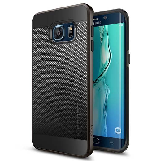 3. Galaxy S6 Edge Plus Case, Spigen  Neo Hybrid Carbon Case for Galaxy S6 Edge+ (Plus)