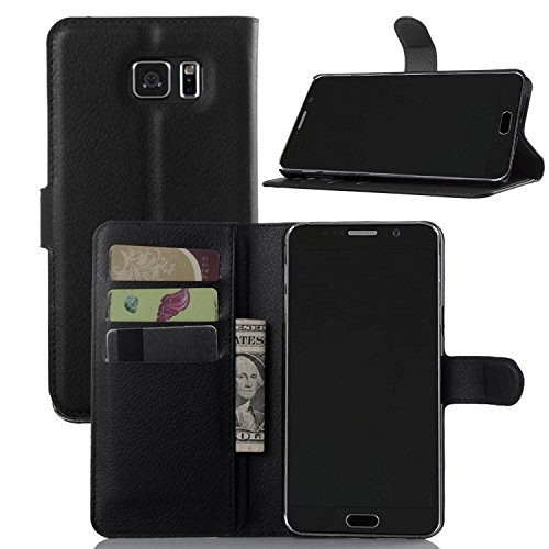 5. Galaxy Note 5 Case, OEAGO Samsung Galaxy Note 5 Leather Case Protective Leather Case Cover for Samsung Galaxy Note 5