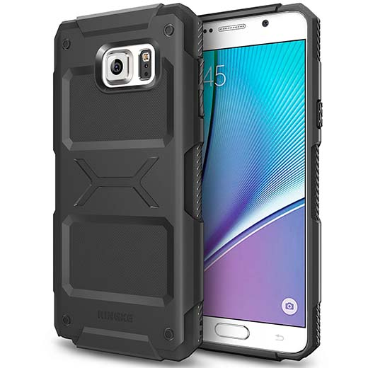 10. Galaxy Note 5 Case, Ringke REBEL Extreme Tough